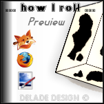 HOW I ROLL Persona by delade
