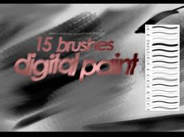 Brushes, Digital Paint by xx-Anya
