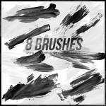 Brushes, Paint Strokes #1