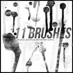 Brushes, Paint Drops