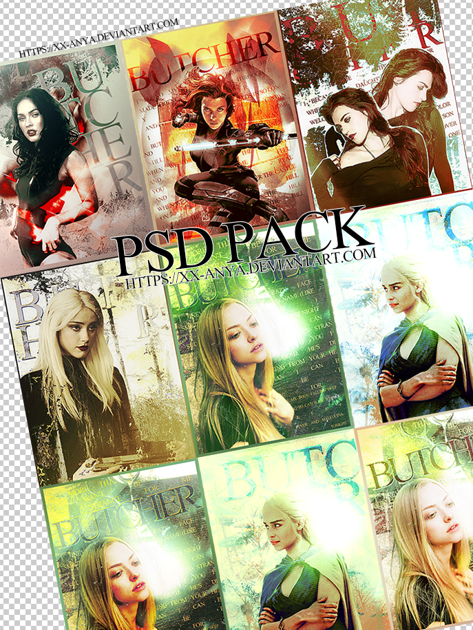 PSD Defaults Pack, by xx-Anya