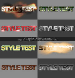 Text Styles #3,