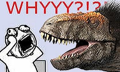 BBC T. Rex Remodel by FredtheDinosaurman