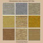 9 Brackentown Cabin Seamless PAT Files