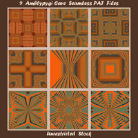 9 Amblypygi Cave Seamless PAT Files