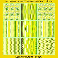 9 Lemonade Slush Seamless PAT Files