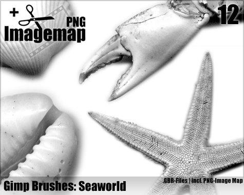 Seaworld Brushes - Gimp