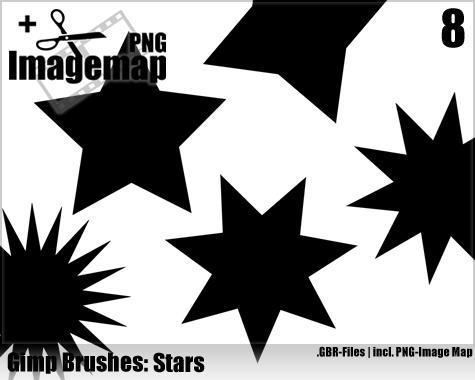 Star Brushes - Gimp