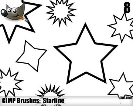 Starline Brushes - Gimp