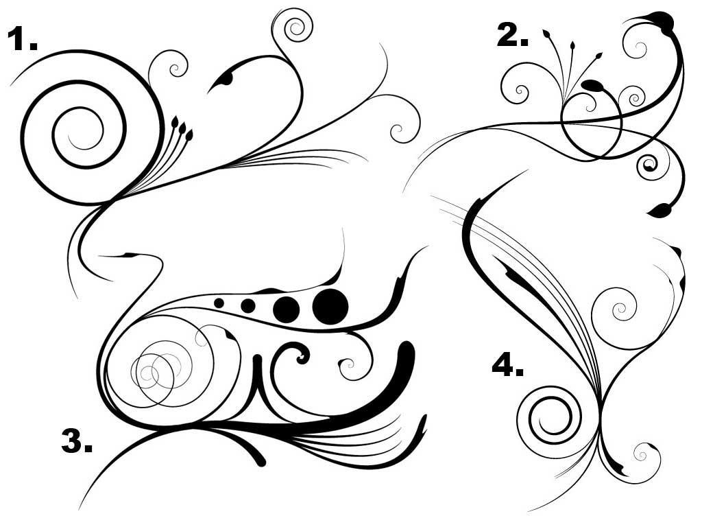 free vector clipart flourishes - photo #14