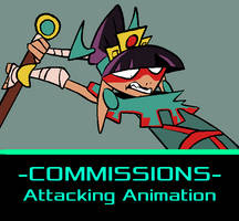 -COMMISSIONS OPEN- Attack Animations! by EVanimations