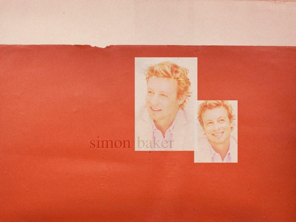 Simon Baker Scar Simon baker wallpaper by scarredstalker