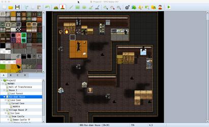 RPG Maker - Inside a House