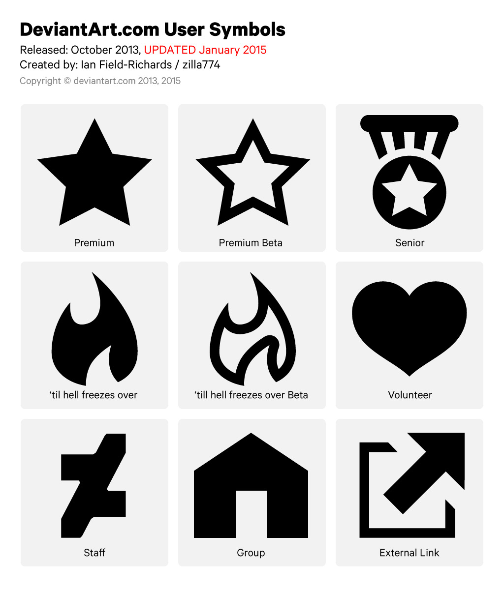 official user symbols pack by zilla774 on official user symbols pack by zilla774