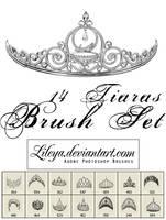 Tiaras brush set