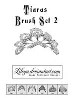 Tiaras Brush Set 2 by Lileya