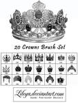 Crowns Brush set