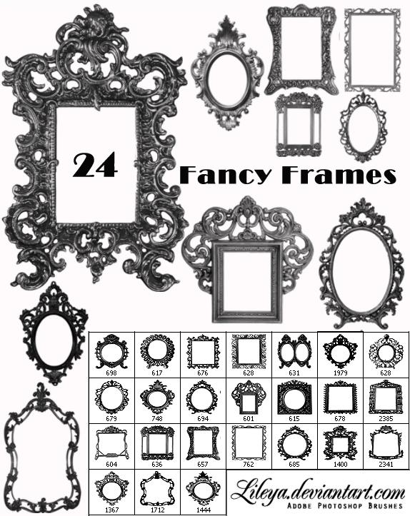 Fancy Frames Brush Set 2