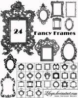 Fancy Frames Brush Set 2 by Lileya