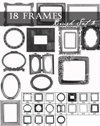Frame brushes set 2 by Lileya