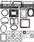Frame brushes set 2
