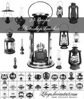 Lamps brushes by Lileya