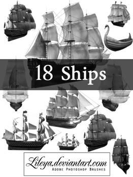 Ships brush set