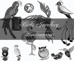 Birds Jewellery by Lileya
