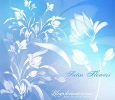 Satin Flowers by Lileya