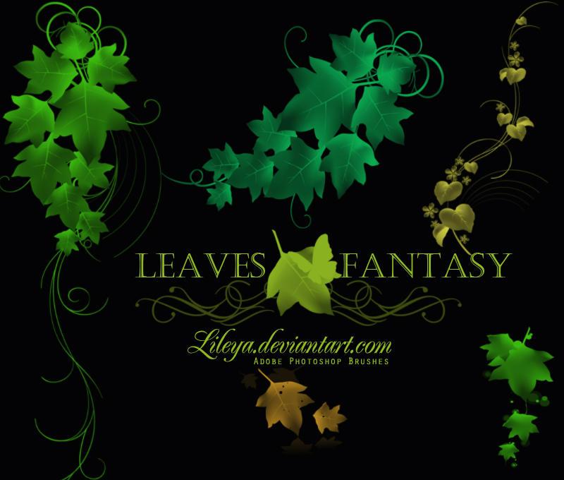 Leaves Fantasy by Lileya