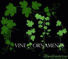 Vine Ornaments