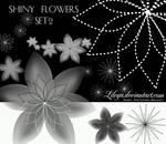 Shiny Flowers - set 2