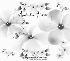 Apple-tree Flowers by Lileya