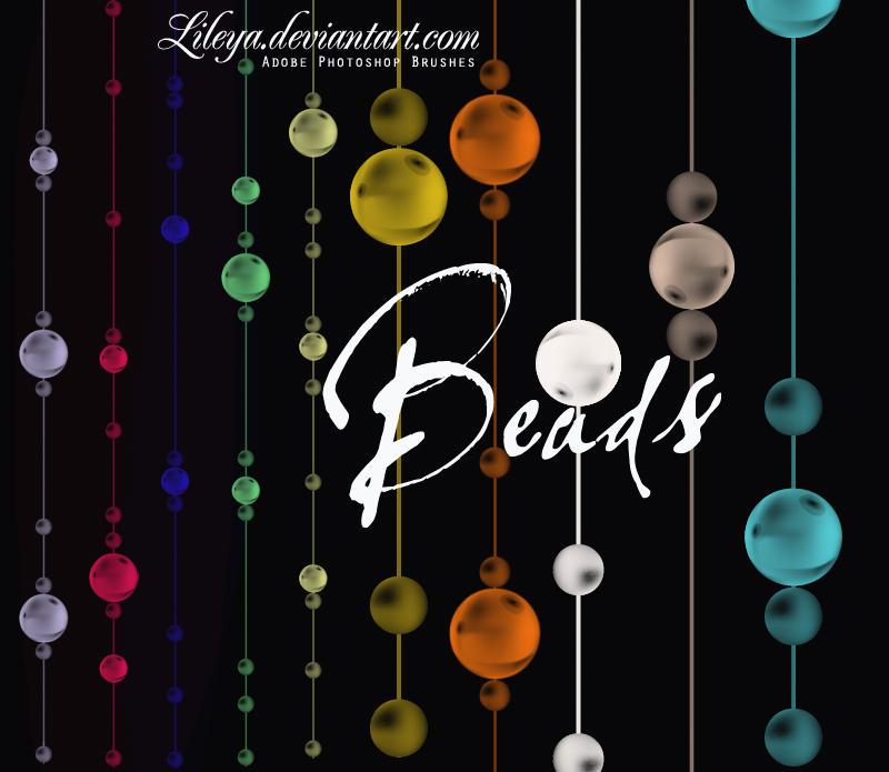 فرش فوتوشوب ناردة وجديدة 2010 Beads_by_Lileya