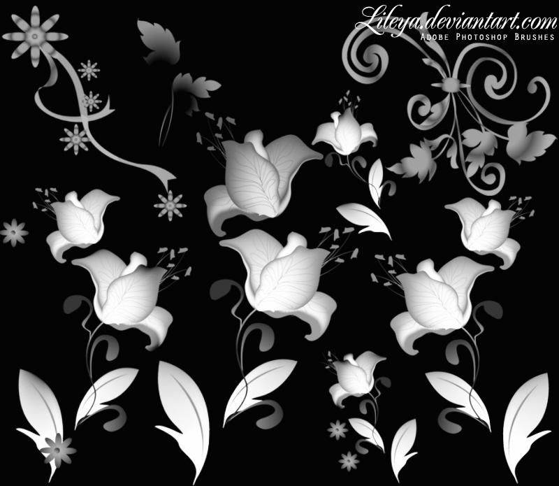 Floral ornament by Lileya