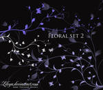 Floral brush set 2