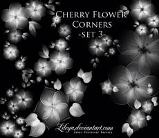 Cherry Flower corners