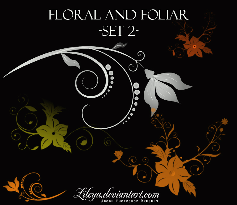 Floral and Foliar -set 2