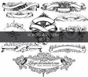 Scroll Banners -set 2-