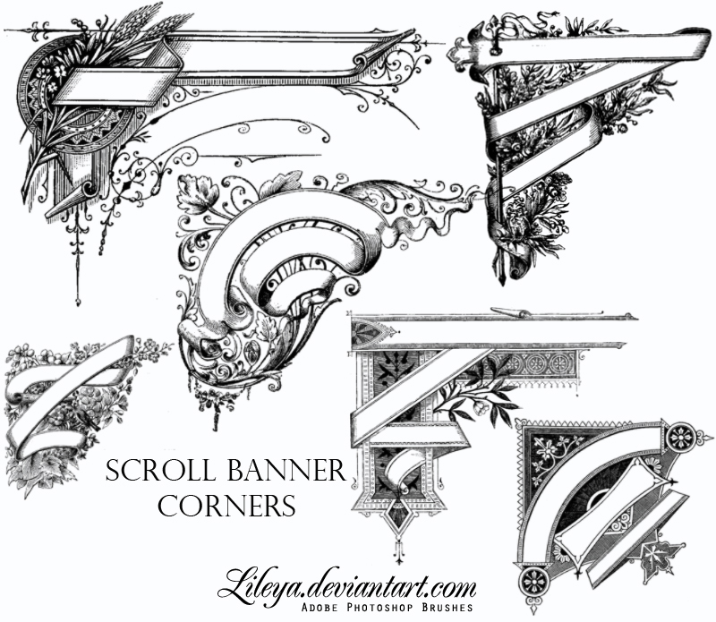 Blank Scroll Banner | Free download on ClipArtMag