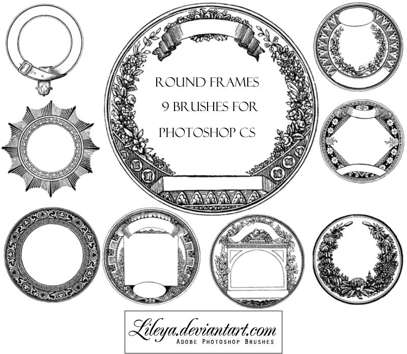 Round Frames by Lileya