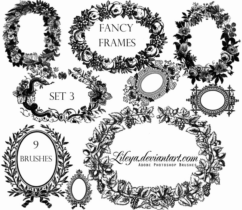 Fancy Frames set 3