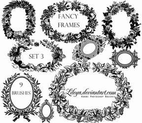 Fancy Frames set 3 by Lileya