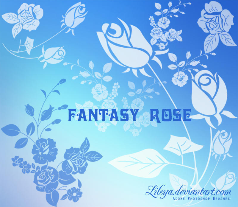 Fantasy Rose by Lileya