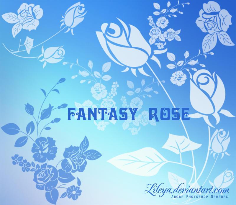 Fantasy Rose by Lileya