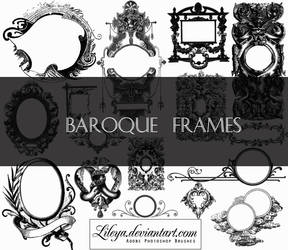 Baroque Frames by Lileya