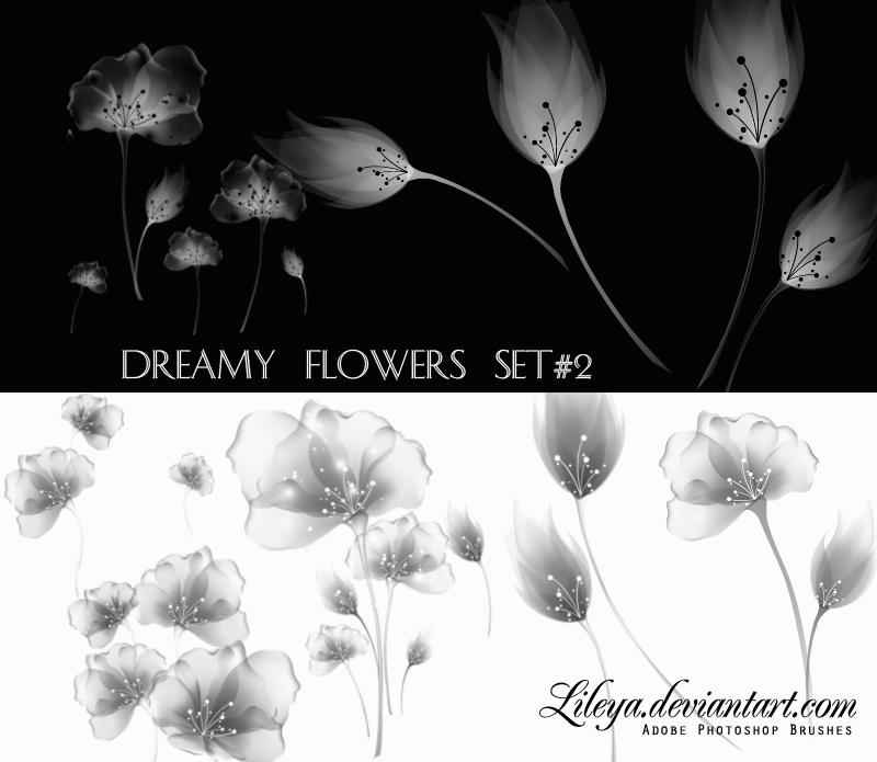 Dreamy Flowers set 2