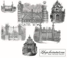 Gates - set 2 by Lileya
