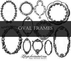 Oval Frames by Lileya