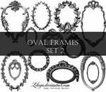 Oval Frames set 2